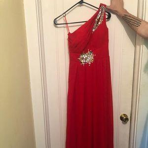 Dresses & Skirts - Long red formal dress